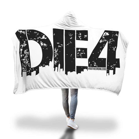 Die4 Hooded Blanket
