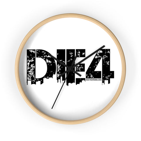 Die4 Wall clock