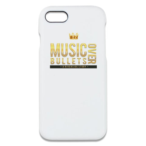 Music Over Bullets IPhone Case