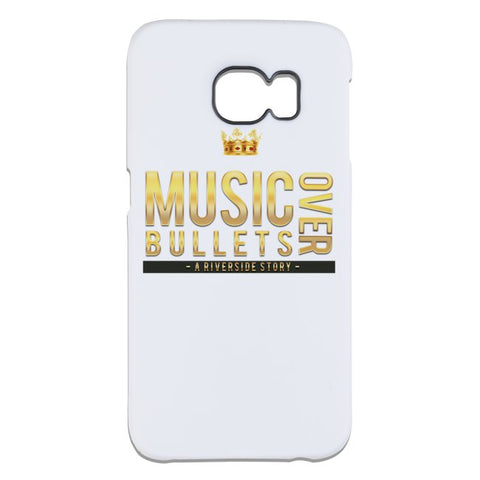 Music Over Bullets Galaxy Case