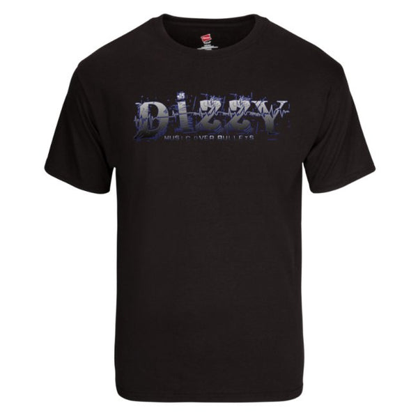 Dizzy Music Over Bullets T-Shirt