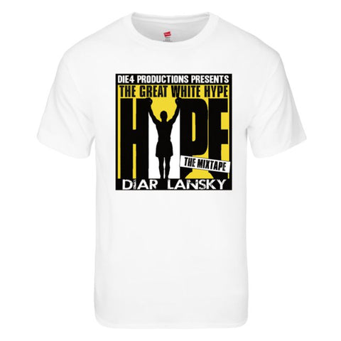 Diar Lansky The Great White Hype T-Shirt