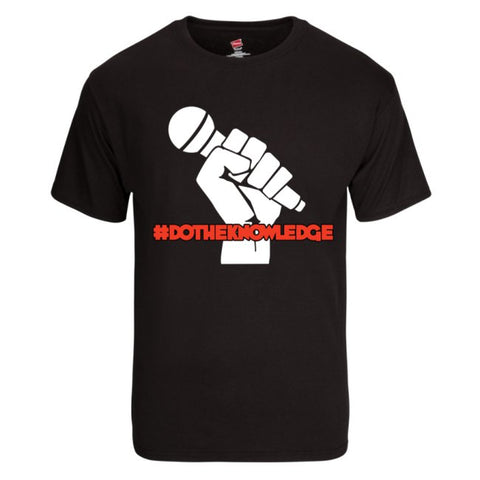 #DoTheKnowledge Microphone King T-Shirt