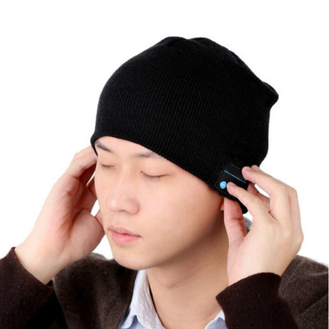 Wireless Bluetooth Mens Smart Beanie