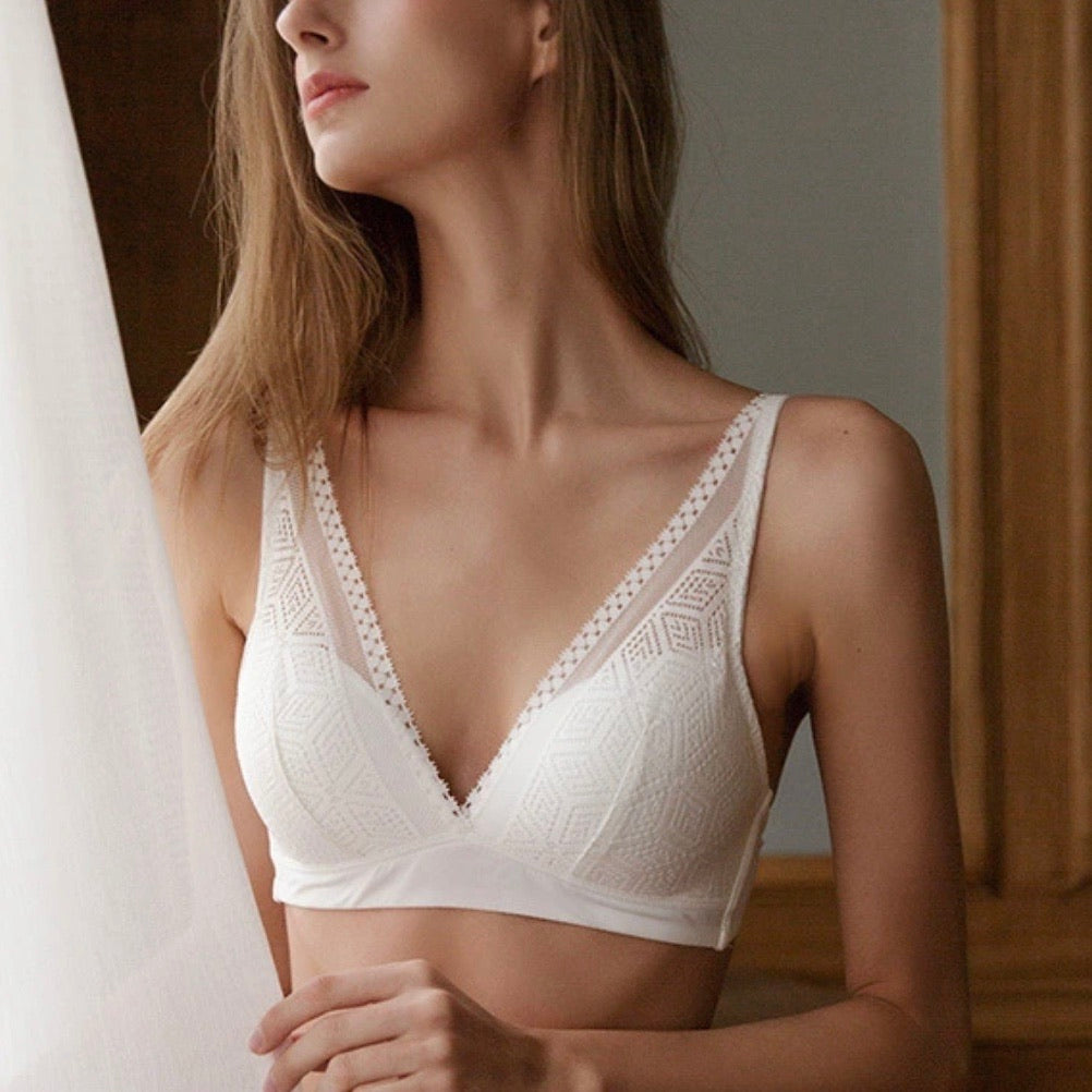 About the Bra - Elle Padded Wireless Bra - More Colors