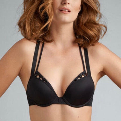 Marlies Dekkers - Angel of Harlem Push-Up Bra - Black