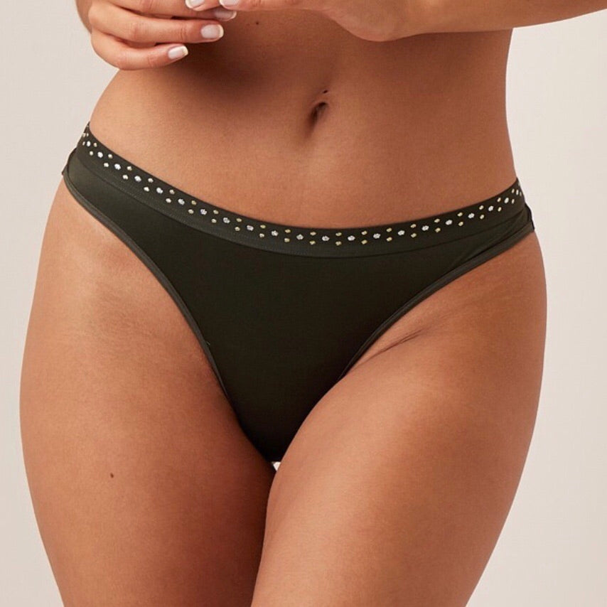 Marlies Dekkers - Emerald Lady Thong - Green