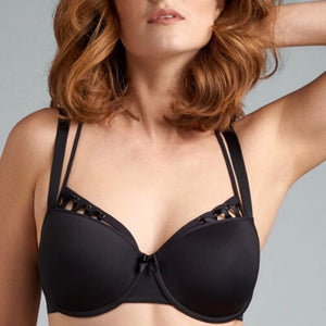 Marlies Dekkers - Angel of Harlem Balcony Bra - Black