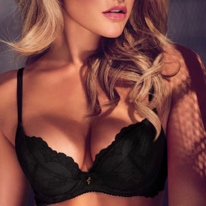 Gossard - Superboost Lace Push-Up Bra - Black & Nude