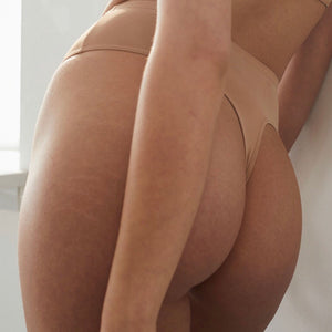 Blush - High Waisted Light Support Thong - More Colors