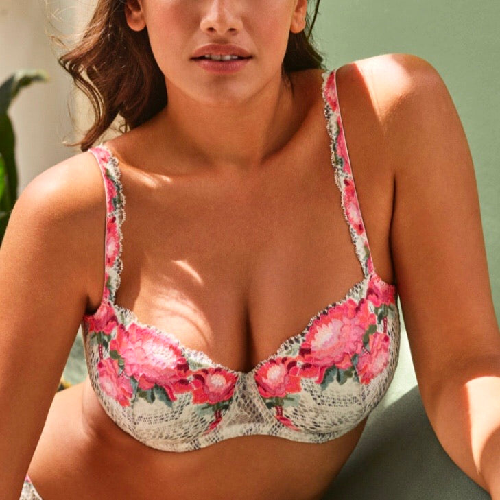 Prima Donna Twist - Efforia Balcony Bra - Flower of Eden