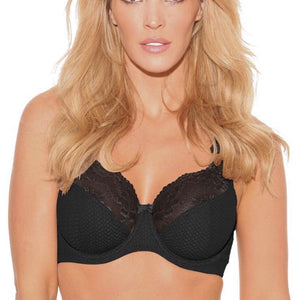 Fit Fully Yours - Serena Bra - Black
