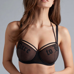 Marlies Dekkers - Dare to Be Balcony Bra - Sand & Black