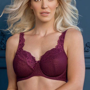 Fit Fully Yours - Serena Bra - Burgundy
