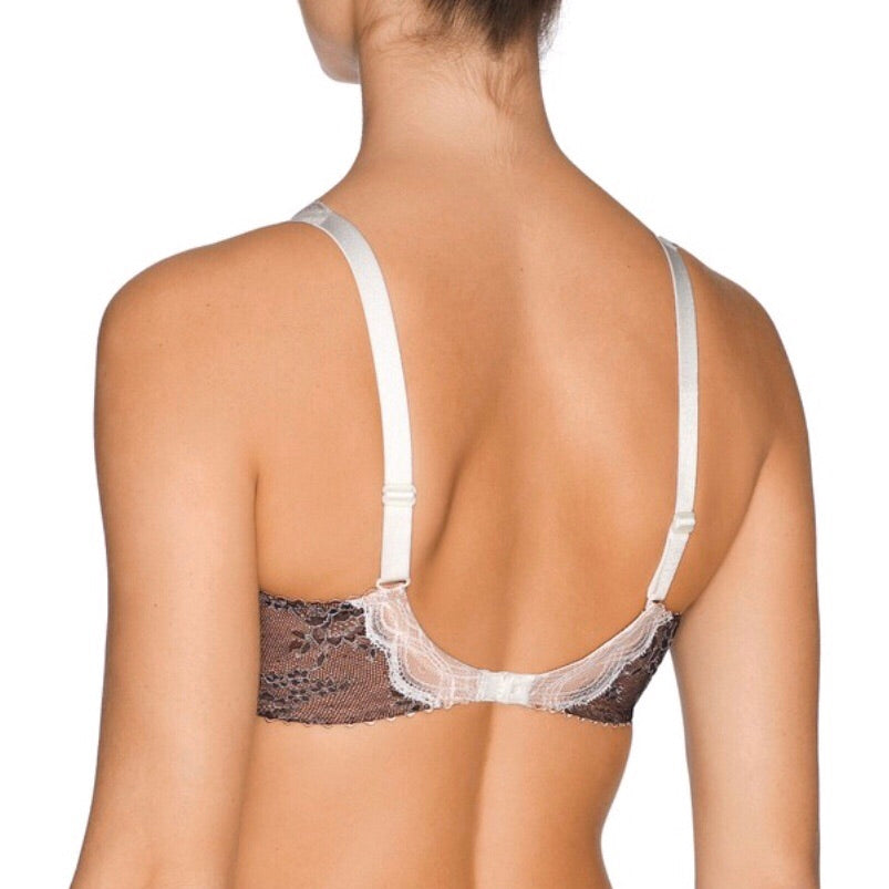 Prima Donna - Crystal Balconette Bra - Black