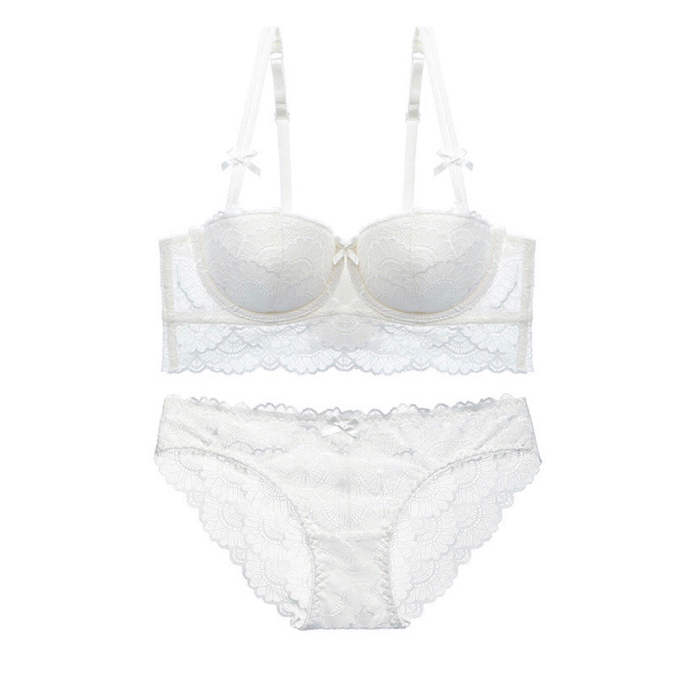 About the Bra - Ryoma Lace Bra - Natural