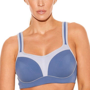 Fit Fully Yours - Pauline Sports Bra - Blue