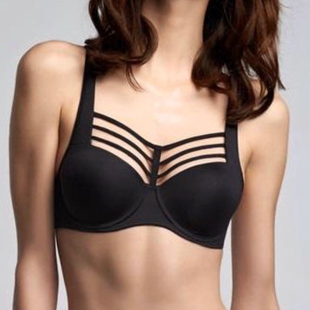 Marlies Dekkers - Leading Strings Balconette Bra - Black