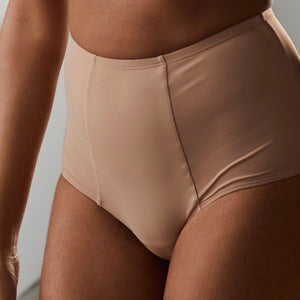 Blush - High Waisted Light Support Brief - More Colors