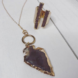 Jools & Joplin - Arrowhead Necklace