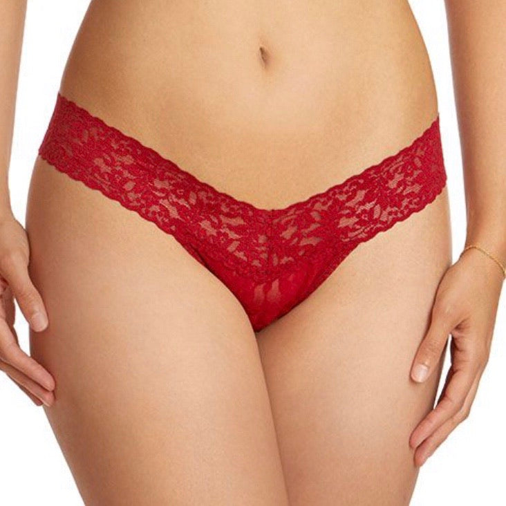 Hanky Panky - Low Rise Lace Thong - More Colors