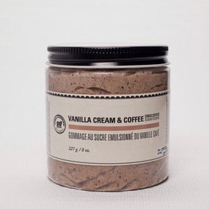 Lamb's Soapworks - Emulsified Sugar Body Scrub - Vanilla Creme & Coffee