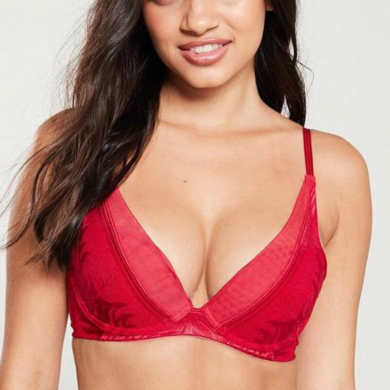 Triumph - Palm Spotlight Cami Bra - Red