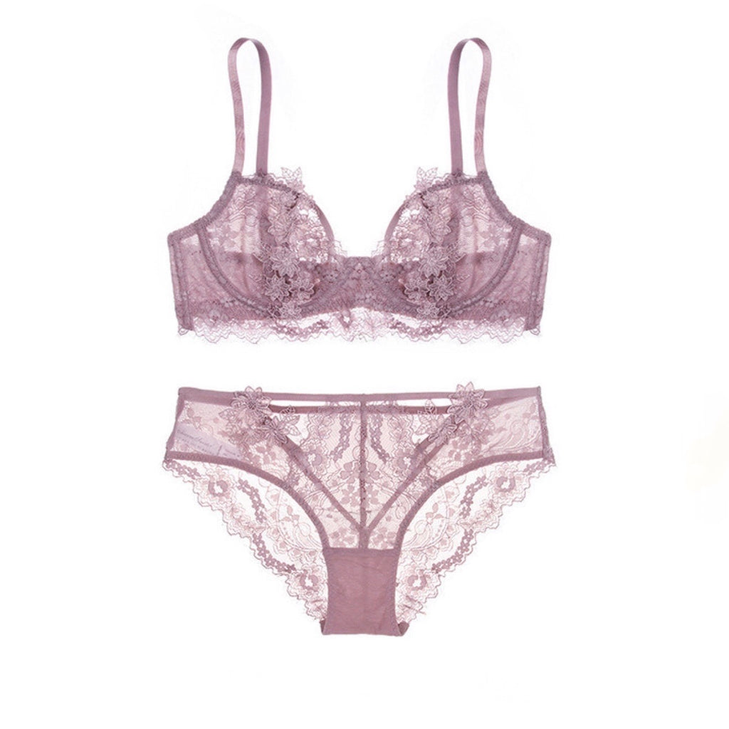 About the Bra - Flora Appliqué Bra - More Colors
