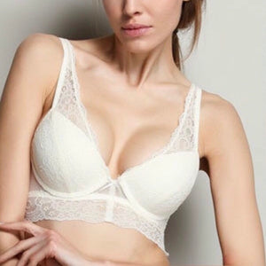 About the Bra - Sofia Soft Lace Longline Push-Up Bra - More Colors