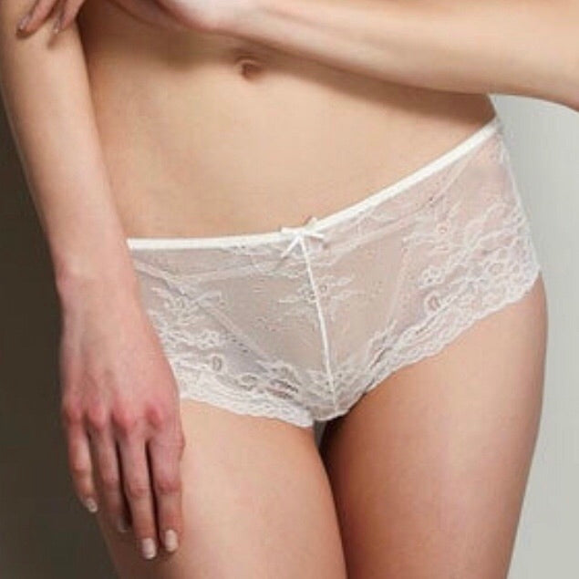About the Bra - Sofia Soft Lace Boyshort - More Colors