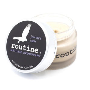 Routine Deodorant Creme - Johnny Cash - Vegan (no beeswax)