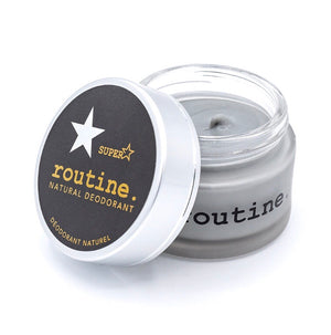 Routine Deodorant Creme - Superstar - Activated Charcoal,