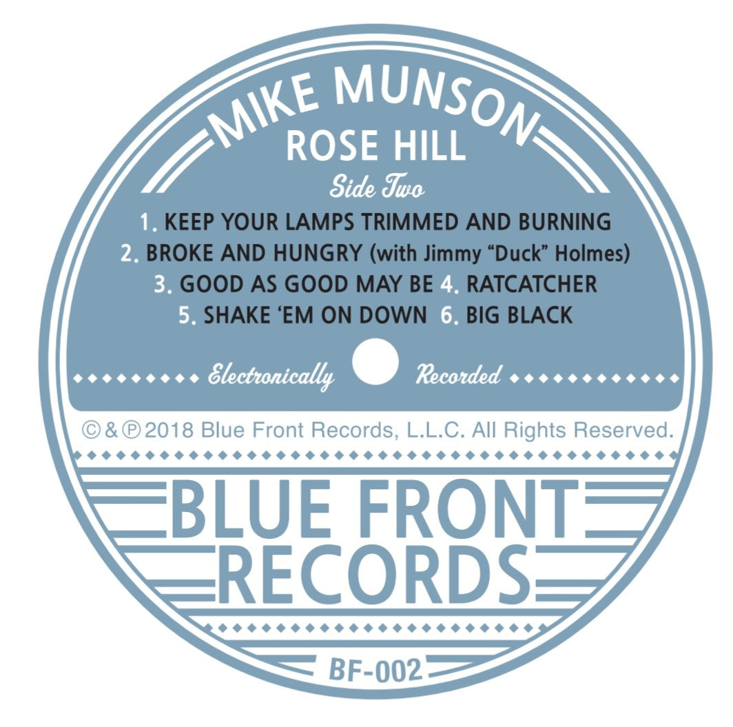 Rose Hill - Mike Munson - 180g vinyl