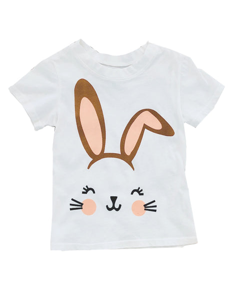 Bunny Tee in White