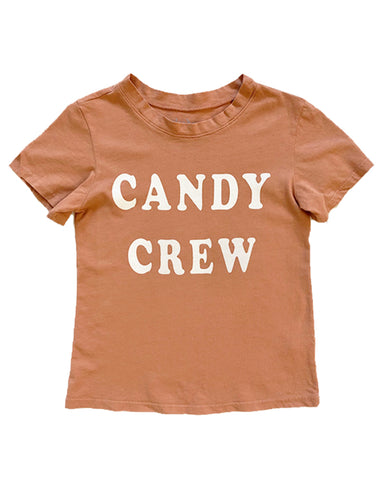 Candy Crew Tee in Sedona Clay, 6mo-10year