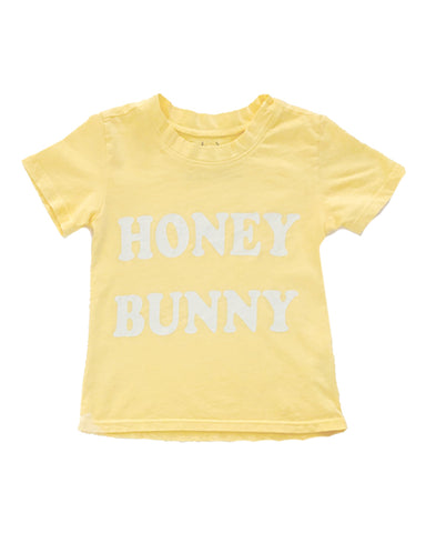 Honey Bunny Tee in Lemon
