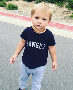 Hangry Tee in Black