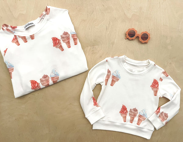 Women's Ice Cream Sweatshirt