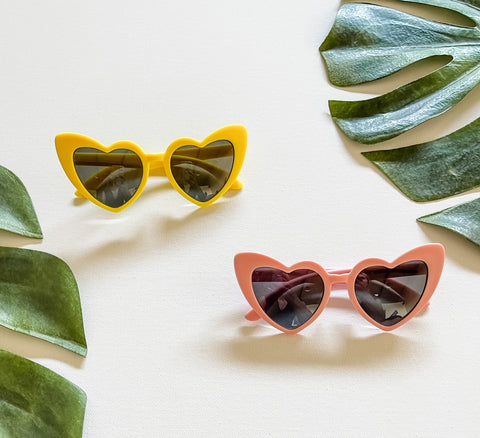 Retro Heart Sunnies, Toddler/Baby