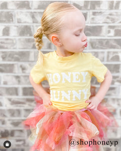 Honey Bunny Kids Tee in Lemon