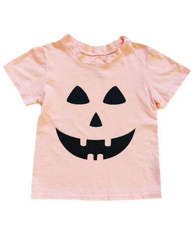 Jack O Lantern Tee in Seashell, 3mo-12year