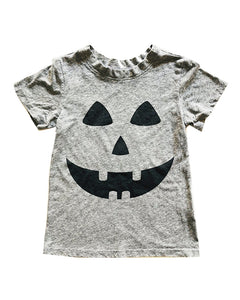 Jack O Lantern in Heather Grey