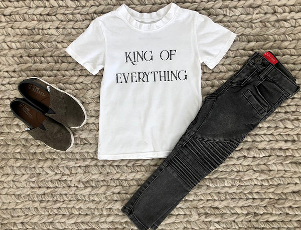 King of Everything Tee in White