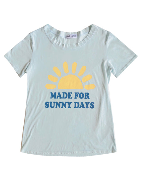Women's Made for Sunny Days Tee in Ice Blue