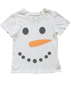 Frosty the Snowman Tee in White, 12mo-10year