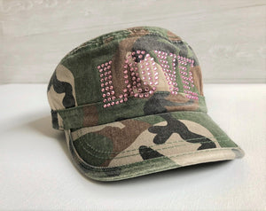 Camo LOVE Cadet Hat