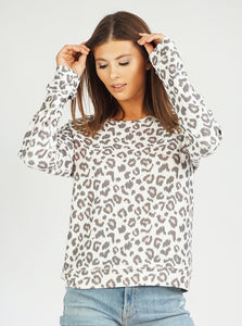 Cheetah Women's Sweatshirt, XS-XL