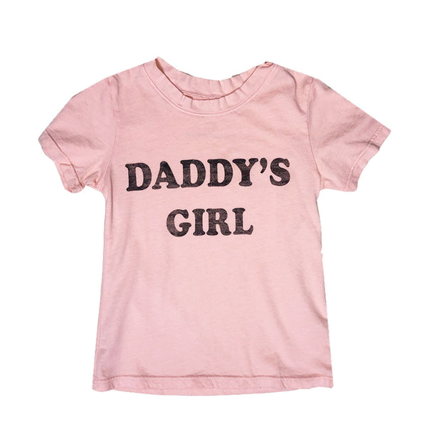 Daddy's Girl Tee in Pink