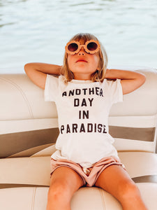 Another Day in Paradise Kids Tee