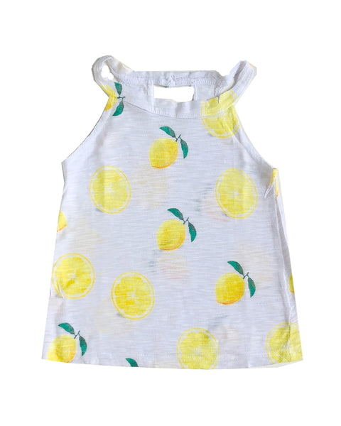 Kids Lemon Tank size 12mo-4T